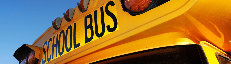 School Bus Close-up
