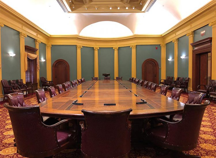 Senate Conference Room Table