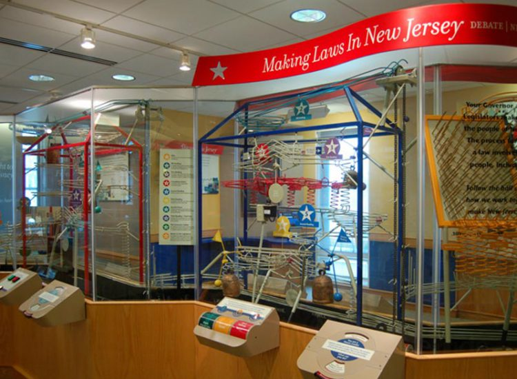 "Welcome Center ""Making Laws"" Display"