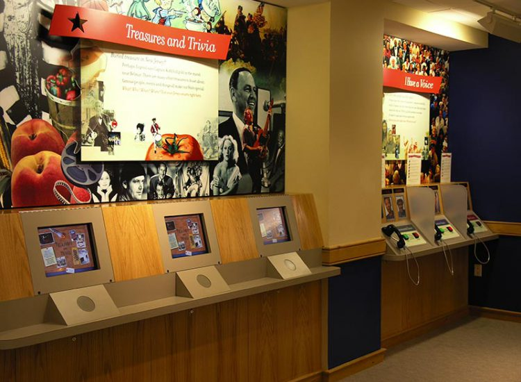 "Welcome Center ""Treasures and Trivia"" Display"